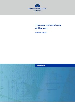 The international role of the euro, June 2018 - cover image